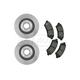 RABFS00053-Brake Pad & Rotor Kit Front Raybestos  SGD699C  56641R