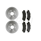 RABFS00045-Brake Pad & Rotor Kit Rear Raybestos 56827R   SGD792M