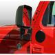RRMRC00002-2007-16 Jeep Wrangler Mirror Filler Plate Pair  Rugged Ridge 11025.05