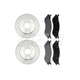 RABFS00042-Dodge Durango Ram 1500 Truck Brake Kit Front