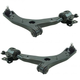 1ASFK04896-2007-09 Mazda 3 Control Arm with Ball Joint Pair