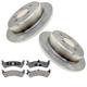 RABFS00044-Brake Pad & Rotor Kit Raybestos  SGD667M   66565R