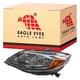 1ALHL02427-2014-15 Honda Civic Headlight
