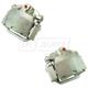 RABCS00013-Brake Caliper Pair  Raybestos Opti-Cal FRC11825N  FRC11826N