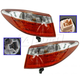 1ALTP01015-2015-17 Toyota Camry Tail Light Pair