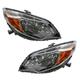1ALHP01195-2014-15 Honda Civic Headlight Pair