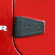 RRDMX00007-2007-16 Jeep Wrangler Door Hinge Cover  Rugged Ridge 11202.05