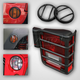 RRBHT00001-2007-16 Jeep Wrangler Euro Guard Light Protector Kit