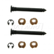 1ADRK00144-Nissan Door Hinge Pin & Bushing Kit (2 Pins  4 Bushings  & 2 Clips) Pair  Dorman 38397