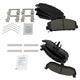 1ABFS02943-Nissan Armada Titan Brake Pads  Nakamoto CD1041. CD1509