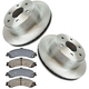 RABFS00014-Brake Pad & Rotor Kit Rear Raybestos SGD834C  56919R