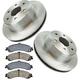 RABFS00014-Brake Pad & Rotor Kit Rear Raybestos  SGD834C  56919R