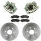 RABFS00140-Brake Kit Rear  Raybestos FRC11035N  FRC11036N  56827R   SGD792M