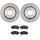 RABFS00015-Brake Pad & Rotor Kit Front Raybestos  SGD1273M  780624R