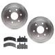 RABFS00018-Brake Pad & Rotor Kit Raybestos SGD369M  580438R
