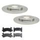 RABFS00016-Brake Pad & Rotor Kit Front Raybestos SGD154M  5064R