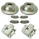 RABFS00142-Brake Kit Rear  Raybestos FRC11331N  FRC11332N  SGD653C  96363R
