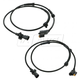 1AERK00353-1999-04 Jeep Grand Cherokee ABS Sensor with Harness Front Pair