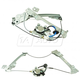 1AWRK01297-2003-09 Nissan 350Z Window Regulator Pair