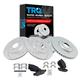 1APBS00988-Brake Kit Pair  Nakamoto CD806  CD805  54088-DSZ  54089-DSZ