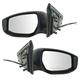 1AMRP01918-2013-16 Nissan Sentra Mirror Pair