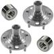 1ASHS01088-2001-03 Toyota Highlander Wheel Bearing & Hub Kit Pair