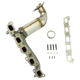 1AEEM00842-2009-10 Hummer H3 H3T Exhaust Manifold with Catalytic Converter & Gasket Kit
