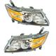1ALHP01207-2014-16 Honda Odyssey Headlight Pair