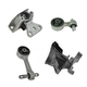 1AEEK00767-2006-11 Honda Civic Engine & Transmission Mount Kit