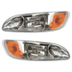 1ALHP01206-Peterbilt Headlight Pair