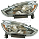 1ALHP01215-2016-17 Nissan Sentra Headlight Pair