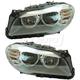 1ALHP01219-BMW 528i 535i ActiveHybrid 5 Headlight Pair