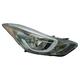 1ALHL02476-2014-16 Hyundai Elantra Headlight