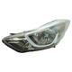 1ALHL02475-2014-16 Hyundai Elantra Headlight