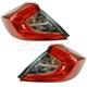 1ALTP01037-2016-17 Honda Civic Tail Light Pair