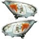 1ALHP01224-2014-17 Mitsubishi Mirage Headlight Pair