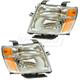 1ALHP01226-2012-16 Nissan Headlight Pair
