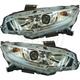 1ALHP01225-2016-17 Honda Civic Headlight Pair