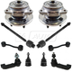 1ASFK05081-2002-04 Jeep Liberty Steering & Suspension Kit