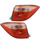1ALTP01043-2017 Toyota Corolla Tail Light Pair