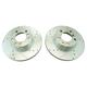 1APBR00415-BMW Brake Rotor Pair  Nakamoto 3441-DSZ