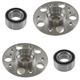 1ASHS01092-Mercedes Benz Wheel Bearing & Hub Kit