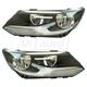 1ALHP01229-2012-17 Volkswagen Tiguan Headlight Pair