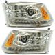 1ALHP01231-2013-17 Ram Headlight Pair