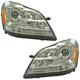 1ALHP01233-Mercedes Benz Headlight Pair