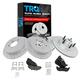 1APBS01032-Brake Kit  Nakamoto MD679  MD879  54092-DSZ  54090-DSZ