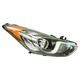1ALHL02504-Hyundai Elantra Elantra GT Headlight