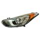 1ALHL02503-Hyundai Elantra Elantra GT Headlight