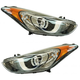 1ALHP01234-Hyundai Elantra Elantra GT Headlight Pair