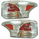 1ALTP01046-2014-15 Mitsubishi Outlander Tail Light Pair
